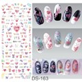 Manicure watermark Stickers Decals Japanese Nail Sticker Decal DS162-175