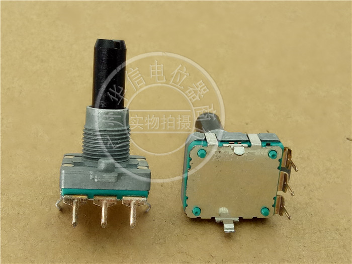 Japanese ALPS potentiometer EC16B encoder with 24 steps Handle length 23MMF
