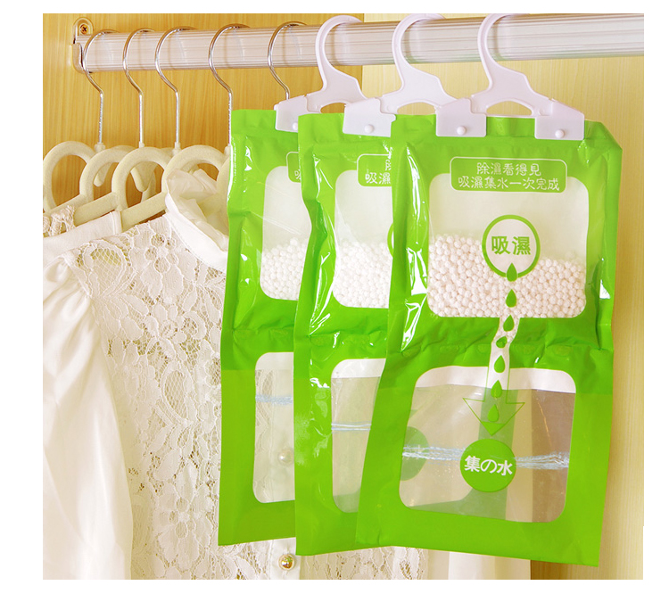 1pcs Wardrobe Linked To Anti-mold Dehumidification Bag To The South-day Indoor Hygroscopic Bag Desiccant Moisture-proof Indoor