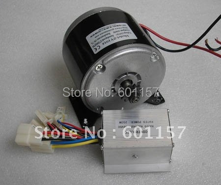 24v 350w permanent magnet dc motor and controller used at for Surplus permanent magnet dc motors