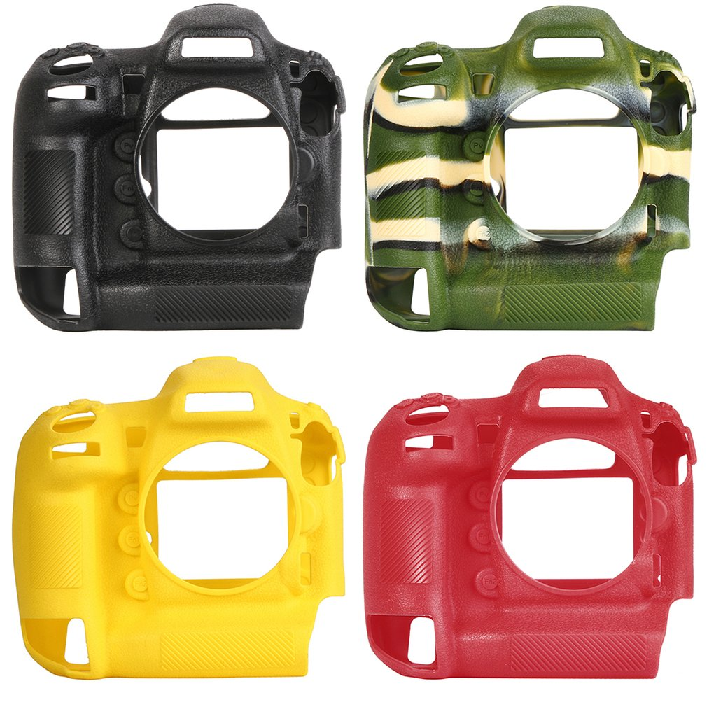 Camera case non-slip wear-resistant comfortable portable durable For Nikon D5 Silicone Case for creative With handle