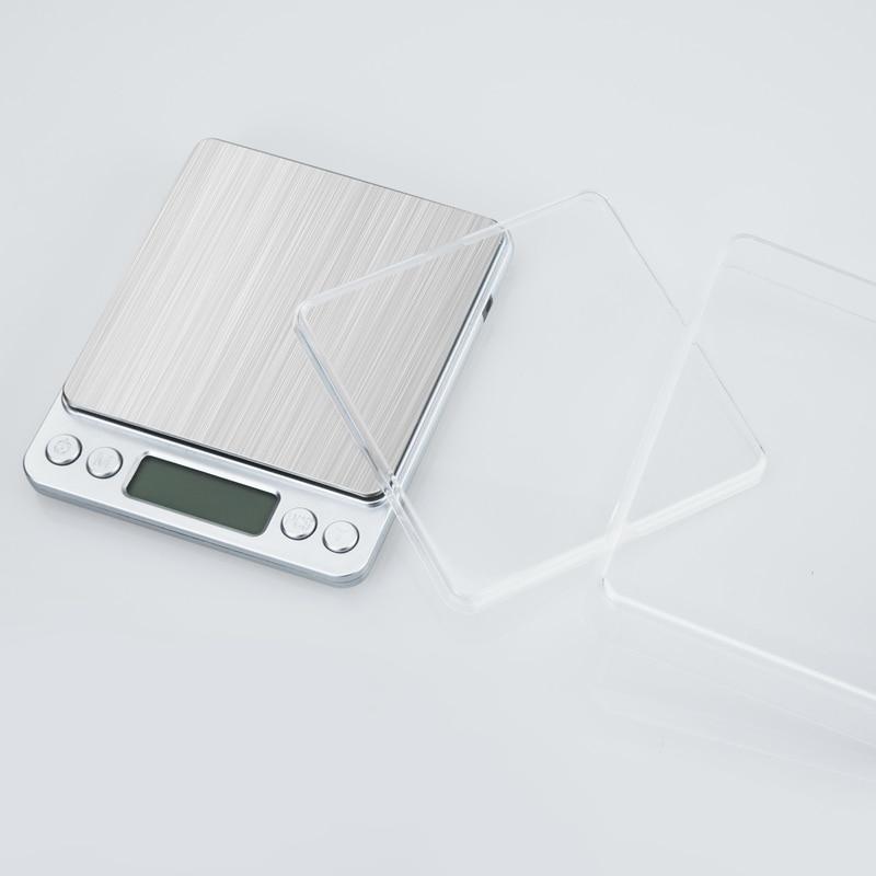 500 g 0,01 g digitális zseb ékszer mérleg 500 G 0,01 - Mérőműszerek - Fénykép 5