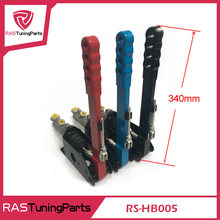 New Universal High quality Vertical Hydraulic Handbrake Drifting Short Handle  red blue black RS3-HB005