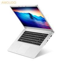 15,6 дюйма 1920X1080P FHD 6 ГБ Оперативная Память 500 ГБ/1 ТБ HDD четырёхъядерный процессор Intel Apollo Lake n3450 Windows 10 Системы Тетрадь ноутбук
