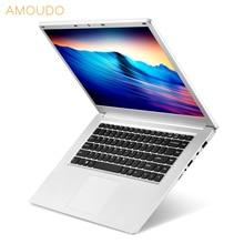 AMOUDO 15.6inch 1920X1080P FHD 8GB RAM 500GB/1TB HDD Intel Quad Core Windows 10 System Notebook