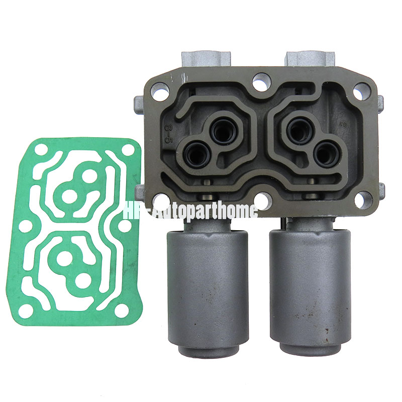 New Transmission Dual Linear Solenoid with Gasket for Honda Accord CR V Element Acura RSX TSX 28260 PRP 014 98990B|Automatic Transmission & Parts|Automobiles & Motorcycles - title=