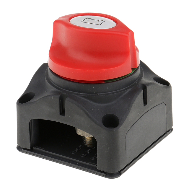 2019 nuevo interruptor de flotador giratorio de desconexión de batería DC 48 V 60 V para coche RV barco yate Strobe chasis/luz antiniebla Etc impermeable