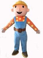 Hot Sales Adult Bob the Builder mascot costume Bob the Buildermascot costume Bob the Builder