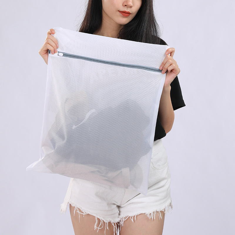 HOT 3 Pcs Zippered Laundry Bags Reusable Mesh Washing Bags Laundry Bra Lingerie Wash Bag For Home TI99