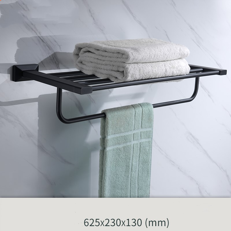 Newest Matte Black brass Bathroom Hardware Accessory bathroom shelf ...