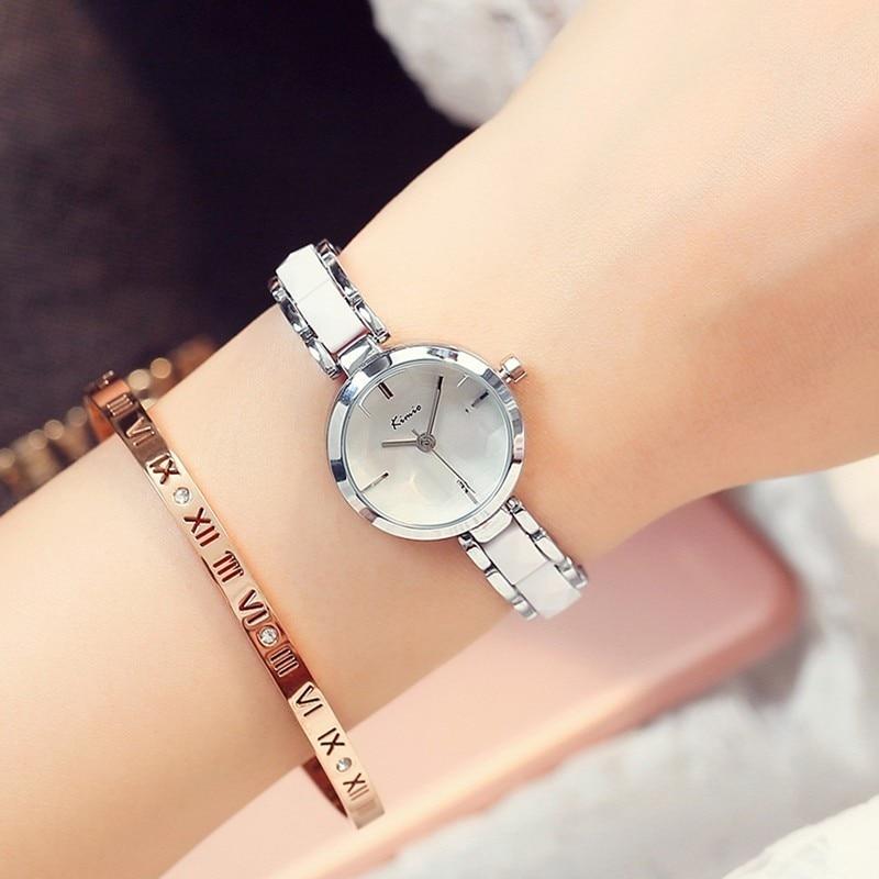 KIMIO Fashion Rose Gold Armband Horloge Dames Quartz Dameshorloges - Dameshorloges - Foto 3