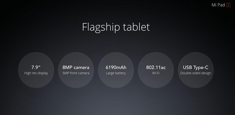 Original Xiaomi Mipad 2 2