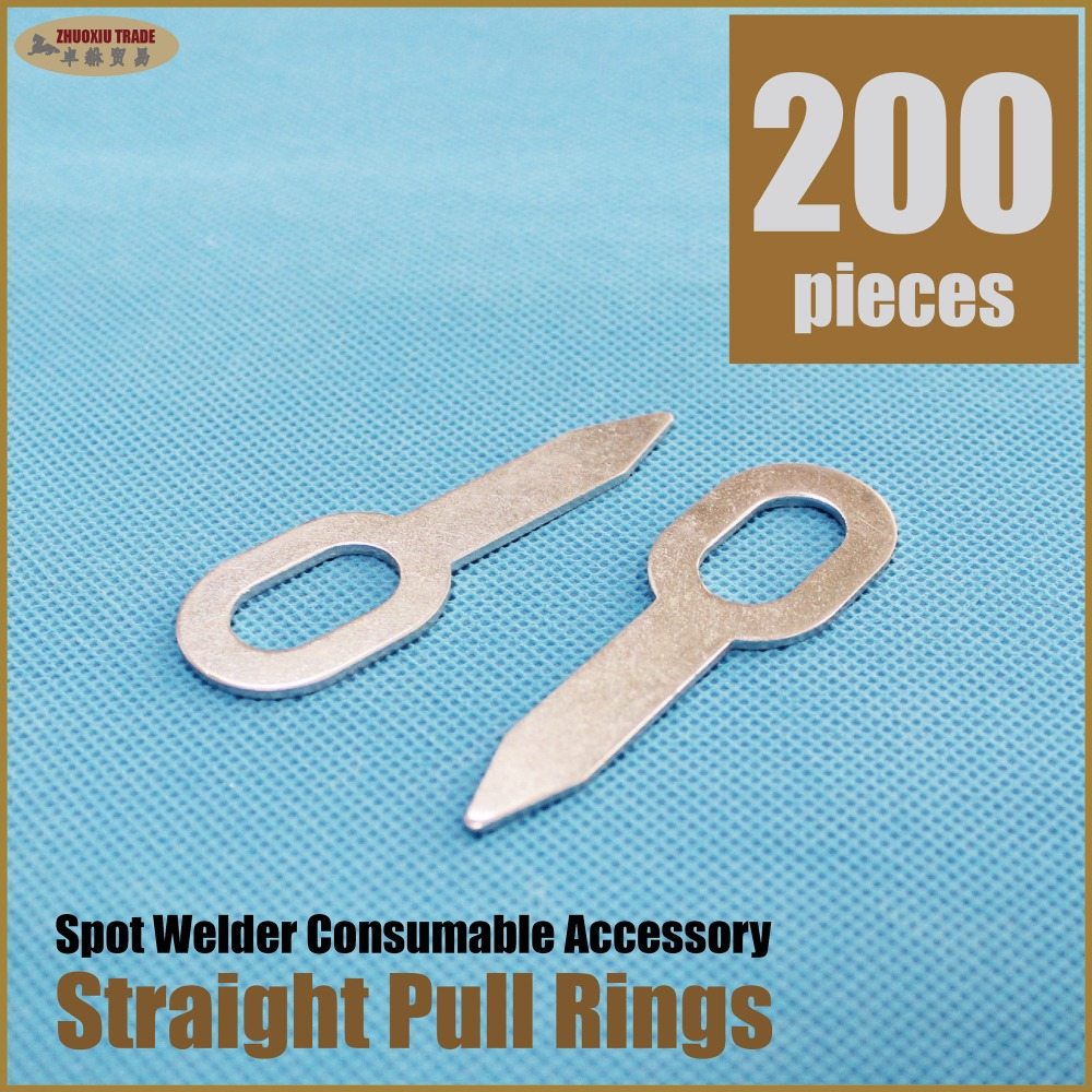 200 pieces Sheet metal working tools, dent pulling spot welding straight pulling bits(WSP-200) ss 16 sheet metal shrinker stretcher metal plate shrinking machinery tools