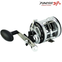 New JCA2000 3000 4000 5000 Metal Coil Drums Deep Sea Boat Fishing Right Hand Lure Fishing