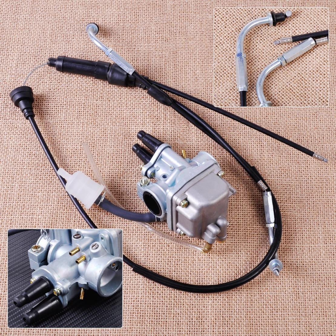 цены  Throttle Cable Carburetor Carb Assembly Assy Kit Fit for Yamaha PW80 Dirt Bike 1985~1998 1999 2000 2001 2002 2003 2004 2005 2006