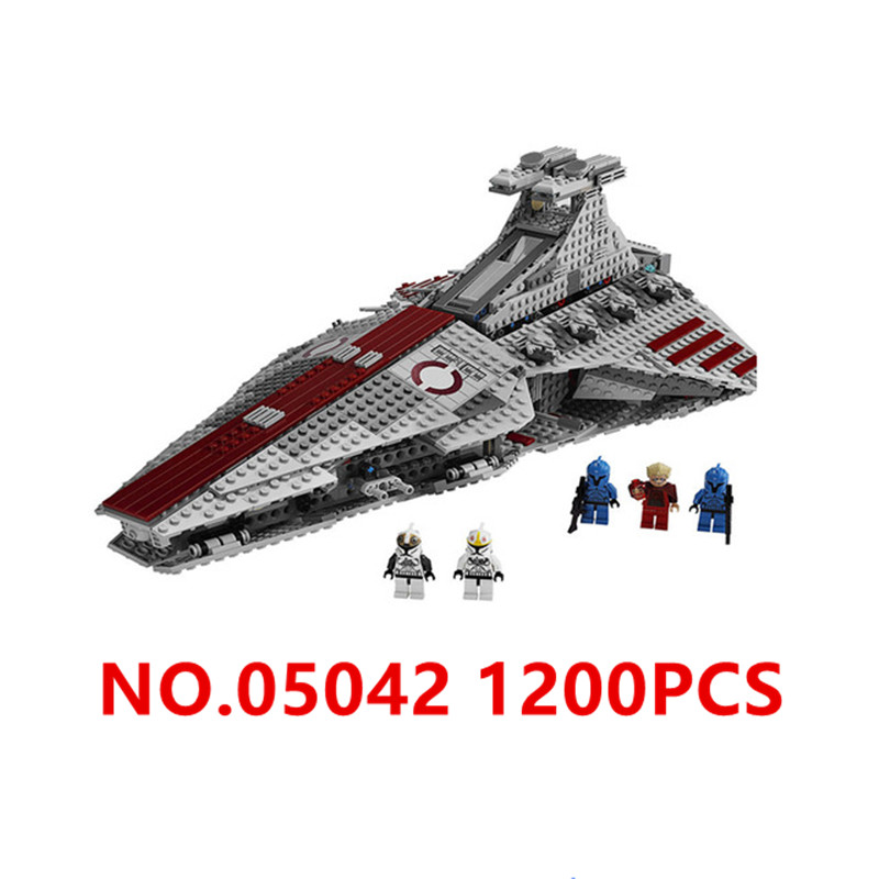₪1218 unids Star Wars serie cazadores Republic Cruiser Model ...