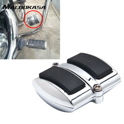 Maluokasa motorcycle chrome rear brake pedal cover for yamaha v star 650 950 1100 1300 for.jpg 250x250