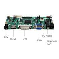 1PC Hot Sale HDMI DVI VGA Audio LCD Controller Board PC Module Kit For 1366x768 B156XW02