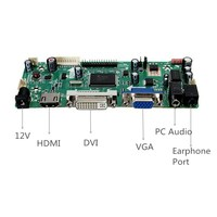 1PC Hot Sale HDMI DVI VGA Audio LCD Controller Board PC Module Kit For 1366x768 B156XW02 Module