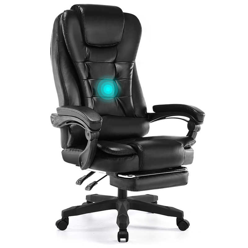 Groovy Reclining Computer Chair Home Leisure Boss Leather Swivel Chair Office Staff Back Lift Study Chair Ncnpc Chair Design For Home Ncnpcorg