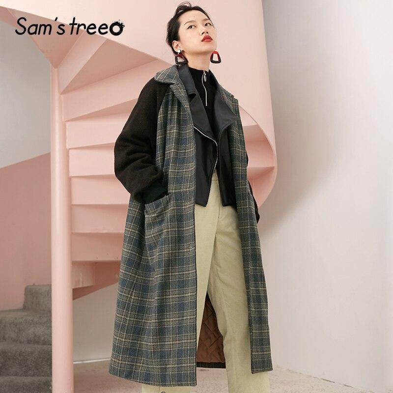 Gray Large Samstree down Manteau taille Vintage De Manteaux