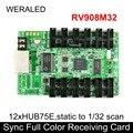 Linsn RV908M32 синхронная полноцветная принимающая карта  работает с TS802 картой для поддержки P2.5 P3 P4 P5 P6 P7.62 P8 P10 Светодиодный модуль