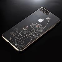 Kingxbar Authorized Swarovski Crystal Plating PC Hard Case For IPhone 6 6s Plus 7 8 Plus