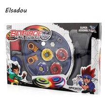Elsadou Beyblade Arena Spinning Top Fight Beyblad Toupie Fusion Barn Gåvor Klassiska Leksaker