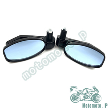 Big Sale For BMW Ducati Aprilia Cafe Racer Victory Triumph Daytona 675 black universal Motorcycle Bar End rearview Mirrors 7/8""