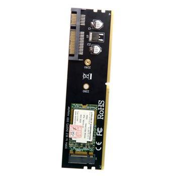 M.2 Ngff B/M Key Sata Ssd zu 22pin Festplatte Adapter Pcba mit Ddr4 Schwarz Anschluss Unterstützung-in Add-On Karten aus Computer und Büro bei