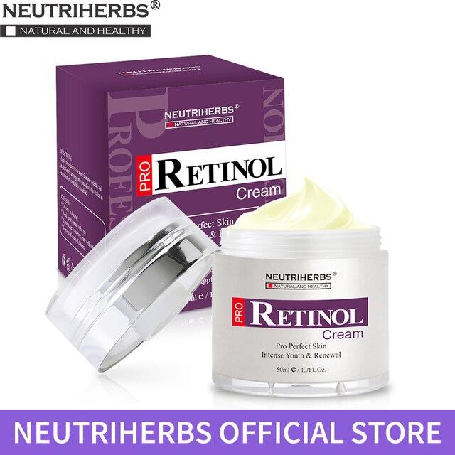 Neutriherbs Kremi Retinol Yüz Kremi Beyazlatıcı Gündüz ve Gece Kremi Anti Aging Kırışıklık Karşıtı Nemlendirici Nemlendirici 50g