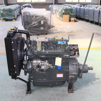 China supplier Weifang ZH4102P 71Hp 52kw fixed power Ricardoweifang Diesel engine with clutch for sale