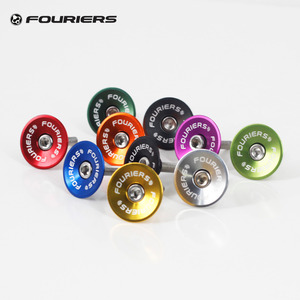 Fouriers CNC Bike Headset Top Cap For 28.6mm Fork 1 1/8