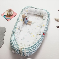 2019 New Baby Bassinet For Bed Portable Baby Cotton Lounger For Newborn Crib Breathable And Sleep Nest