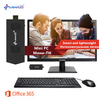 MeeGOpad T02 Mini PC Activated Win 10 Ubuntu Version 2GB/32GB Intel Atom Quad Core Z3735F Wifi HDMI Bluetooth Compute Stick