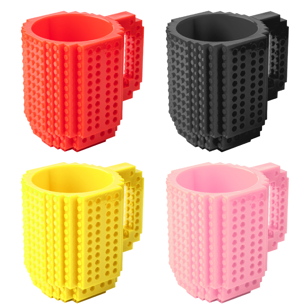 350ml Creative Milk Mug Coffee Cup Creative Build on Brick