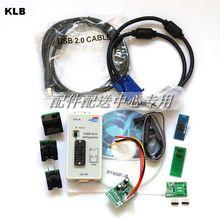 RT809F مبرمج + 7 محولات + SOP16 SOP20 IC كليب اللوحة قارئ LCD BIOS ISP/USB/VGA ث/Engilsh Softerware