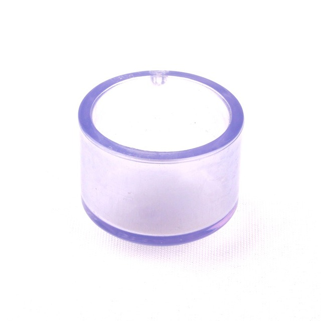 32mm 1 25 Inch Transparent Pvc Pipe End Cap Socket Type Water Pipe Plug Good Quality Fish Tank Water Fittings