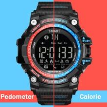 Deporte Relojes Digitales Hombres de Calorías Podómetro Bluetooth Led Electrónica Reloj Running Impermeable Relogio masculino Hodinky 49
