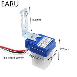 Image 4 - Fotocélula automática de encendido y apagado, controlador de lámpara de calle, interruptor de Sensor de fotointerruptor de Control, DC 220V 50 60Hz 10A