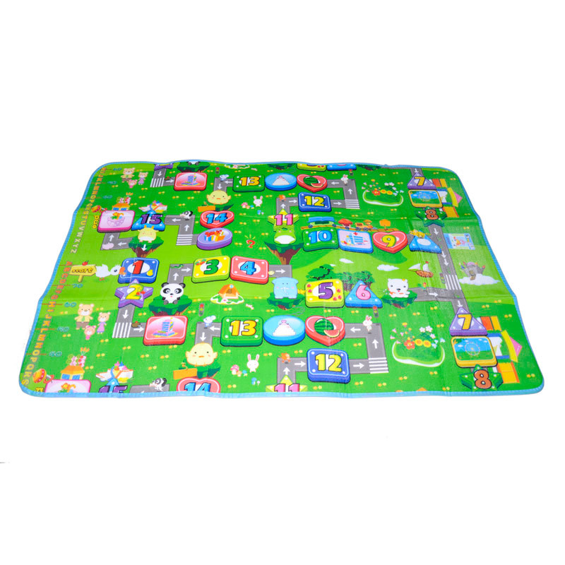 Funny Activity children puzzle mat baby for kids room carpet rug blanket learning educational toys for boys girls gifts 4