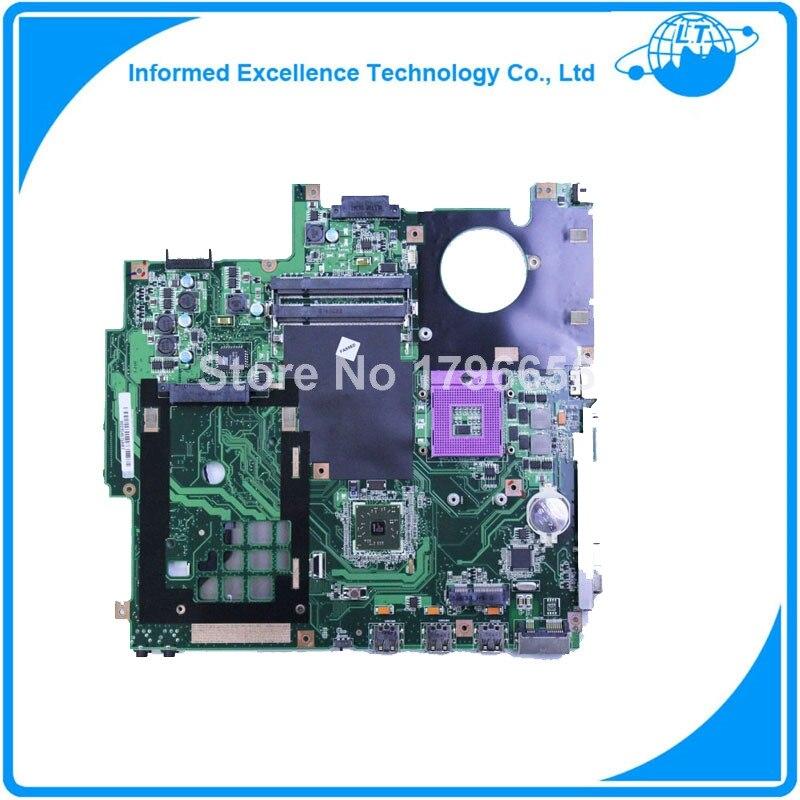 For ASUS F5RL X50RL REV:2.0 Laptop Motherboard Mainboard 08G2005FR20V 90days warranty for asus l50vn x57v m50vc m50vm m50v motherboard npcmb1100 a05 npcmb1500 a02 mainboard m50vm rev 2 0 pm45100