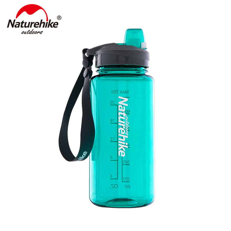 Naturehike 1000ml/750ml Sports Water Bottle Plastic Outdoor Bicycle Bottle Sport Water bottle NH17S010-B naturehike sport bottle