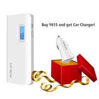 ARUN 10000mah Dual USB With LCD Display High Speed Charging Technology Power Bank For Samsung Galaxy