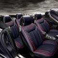 3D Estilo Sport Cubierta de Asiento de Coche Cojín Generales Para BMW 3 4 5 6 7 SeriesGT M3 X3 X1 X4 X5 X6 Suv Cuero de Alta fibra de Coche Cubre