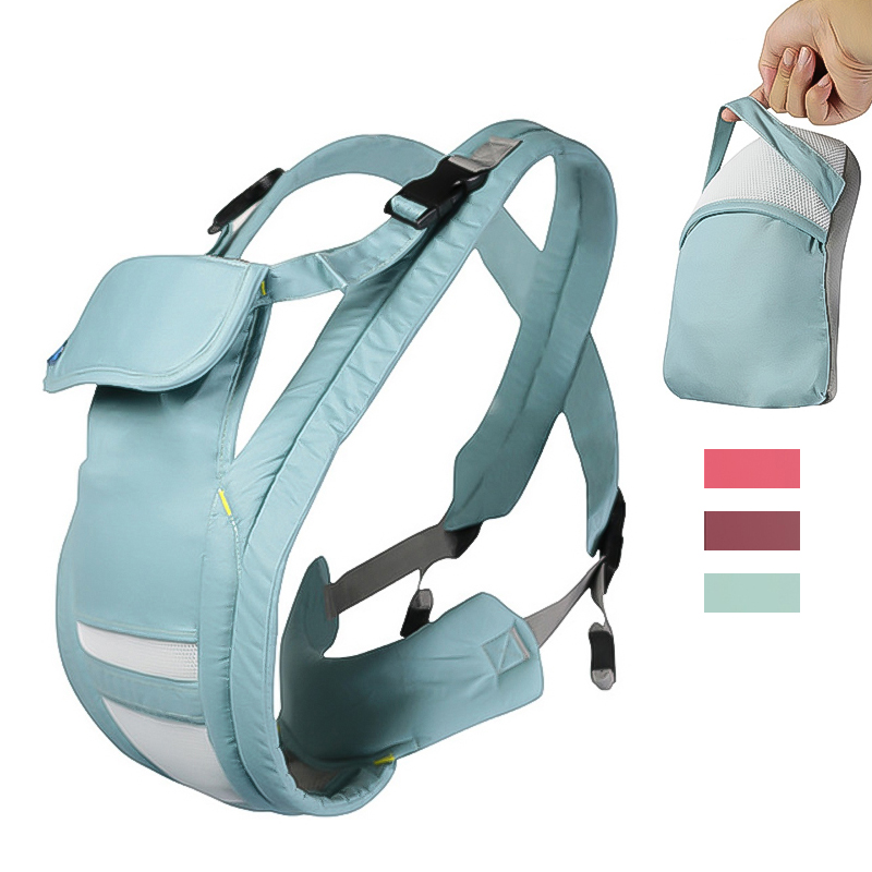 Portable Storage Carriers Ergonomic Baby Carrier Backpack Cotton Baby Carrier Wraps Newborn Baby Sling Baby Kangaroo 0-36 Months(China)