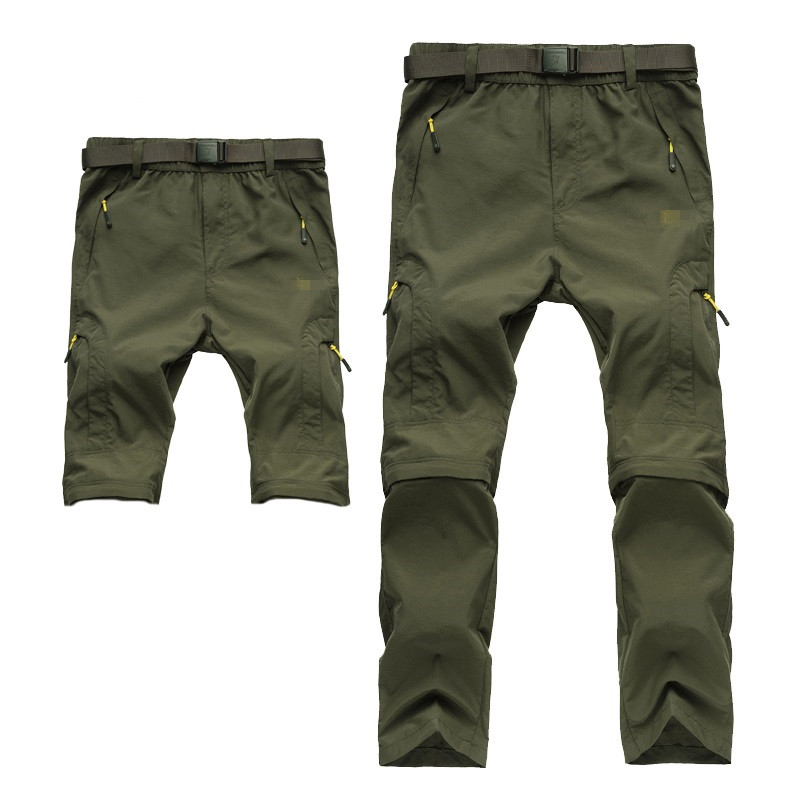 ФОТО Outdoor Sport camping hiking Quick Drying pants Travel Active Removable pants outdoor climbing Waterproof of pants Trousers