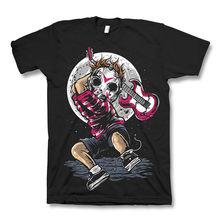 BREAK THE NOISE jason mask punk friday 13th dtg mens t shirt tees new 2018100% Cotton Short Sleeve O-Neck Tops Tee Shirts цена и фото