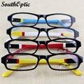 Venda quente elegante cor de alta qualidade aro óculos de acetato de óculos de quadros mulheres 8381