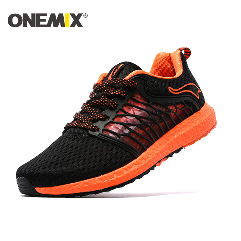ONEMIX Summer Men Running Shoes Ultralight Sport Sneakers Breathable Jogging Shoes Men Walking Shoes Women Tennis